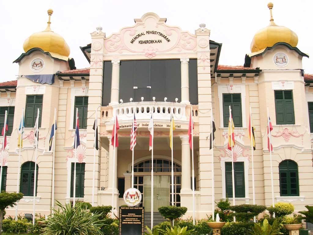 Edificio donde se firmó la independencia de Malasia en la ciudad de Malacca