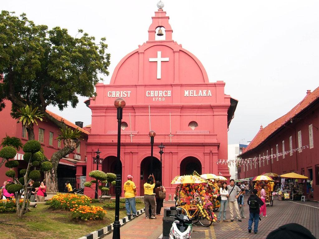 Ciudad iglesia Malacca