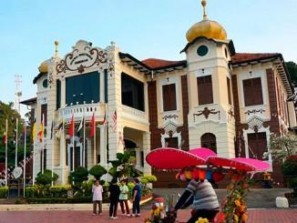 La ciudad de Malacca en Malasia