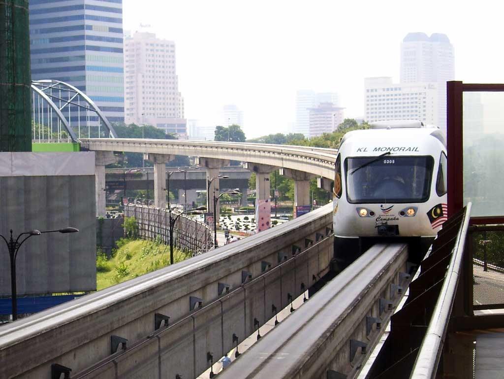 Monorail Kuala Lumpur Malasia