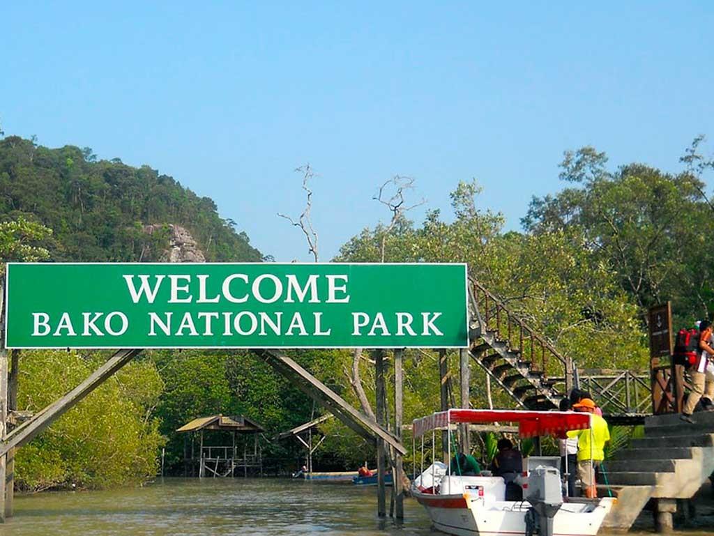 entrada Parque Nacional Bako