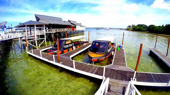 El mejor lugar para buceo en Malasia