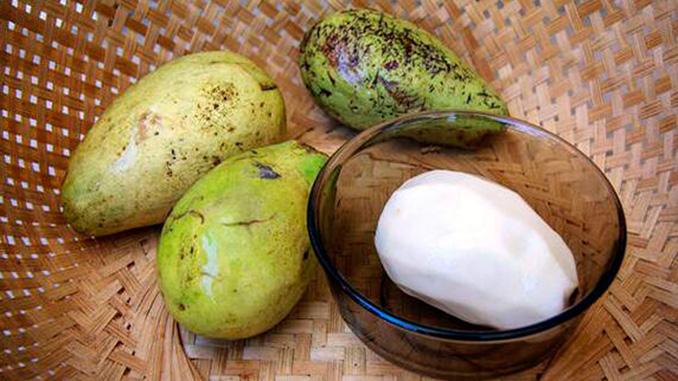 Fruta del Wanyi de la isla de Borneo
