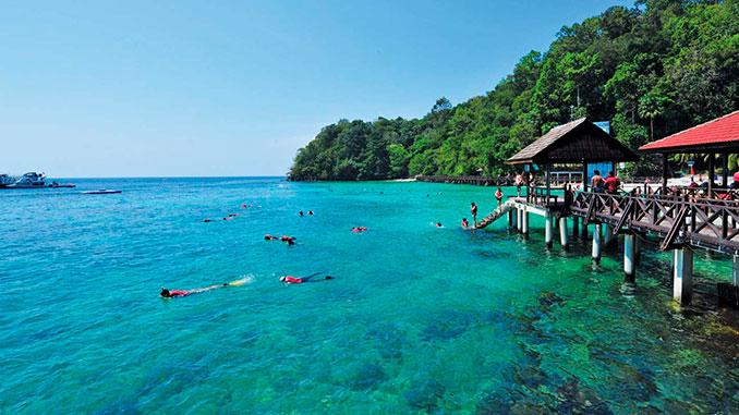 Isla de Langkawi en Malasia