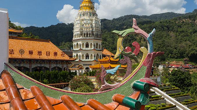 Los atractivos de la isla de Penang