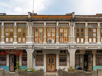Georgetown la capital de la isla de Penang