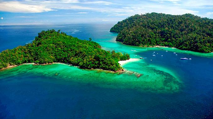 La isla de Gaya al visitar Kota Kinabalu