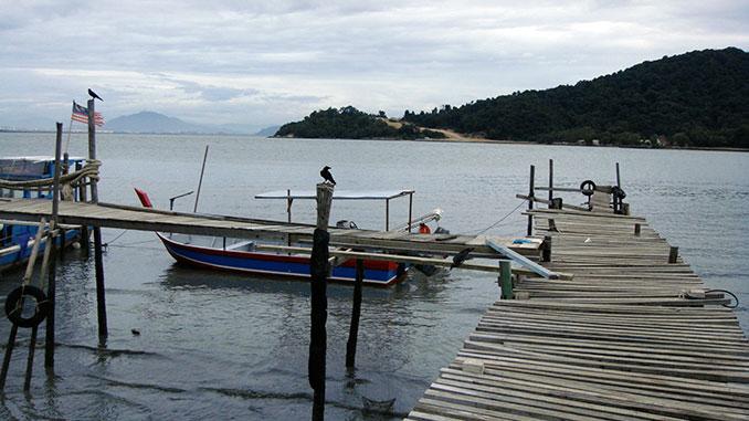 Pulau Jerejak es la isla más grande que rodea a la isla de Penang