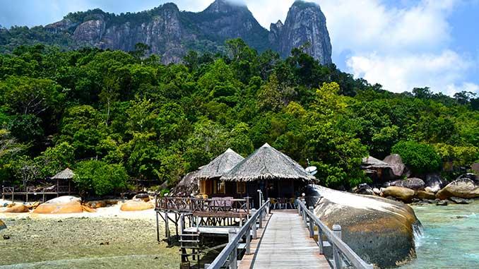 Hotel en la isla Tioman en Malaysia
