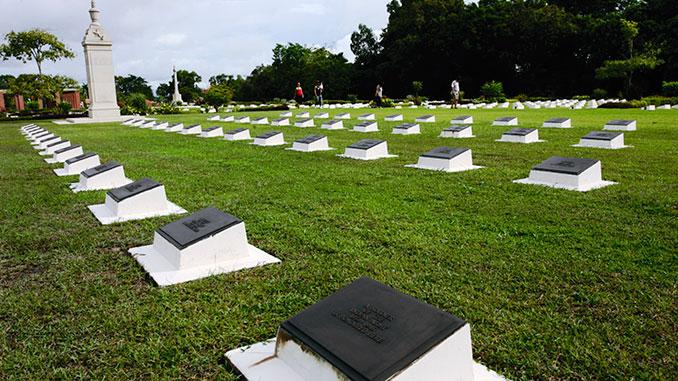 Memorial Park en Labuan Borneo