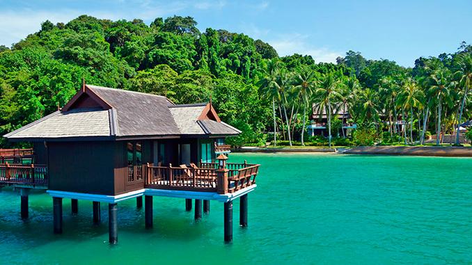 La isla de Pangkor en Malasia
