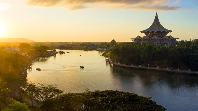 Visita a la ciudad de Kuching en Borneo