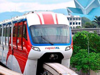 El monorail de Kuala Lumpur estaciones