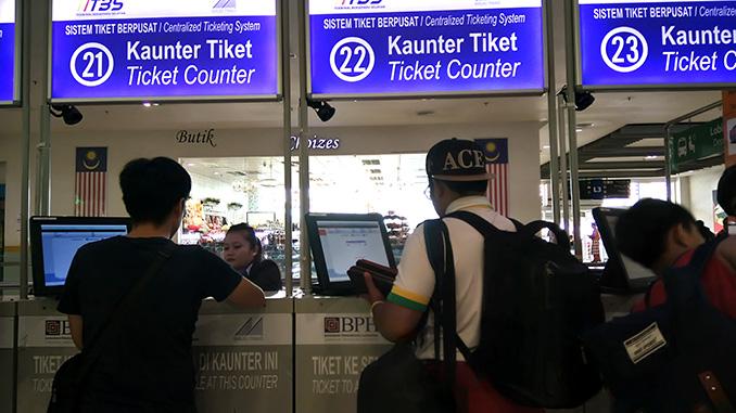 Nueva estación autobús TBS en Kuala Lumpur