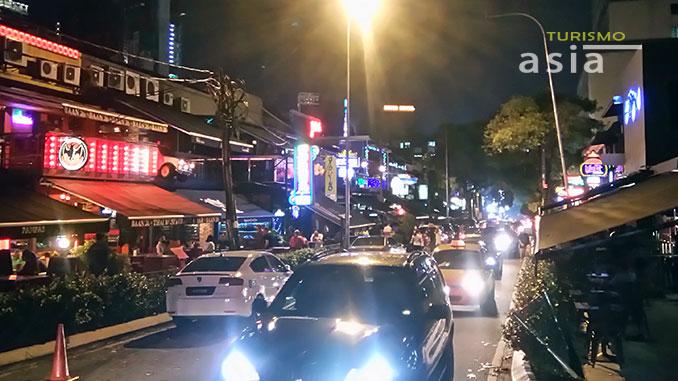 vida nocturna en Malasia Bukit Bintang
