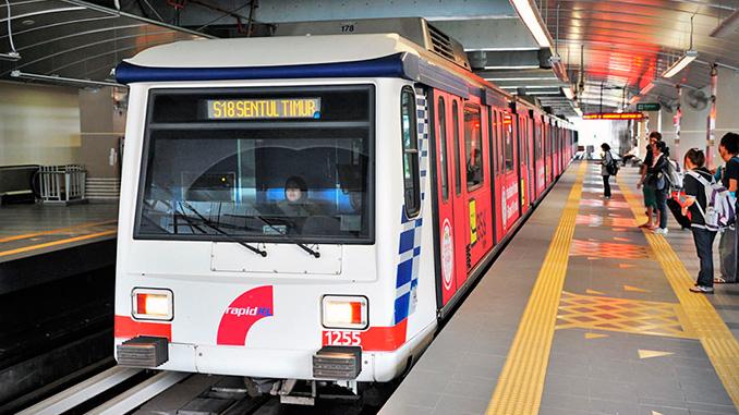 te contamos como moverse en tren por Kuala Lumpur
