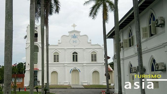 Iglesia de Melaka en Malasia