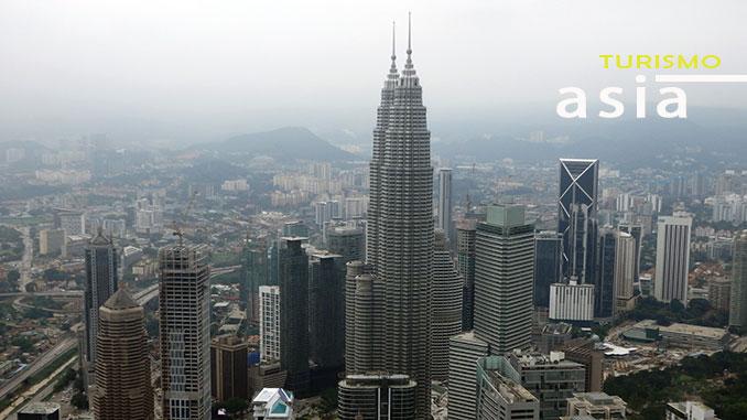 Vistas de las Torres Petronas de Kuala Lumpur