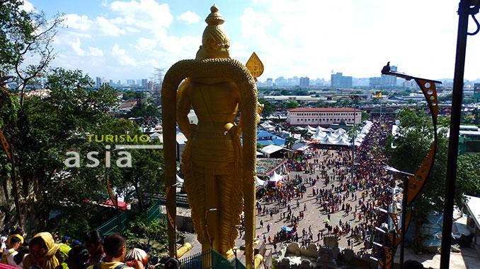 Thaipusam la fiesta hindú más importante de Malasia