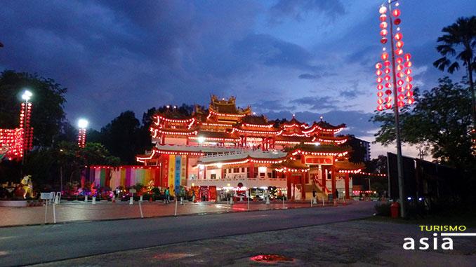 Templo Thean Hou en Kuala Lumpur