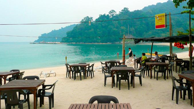 El mejor restaurante de Pangkor Cafe Daddys
