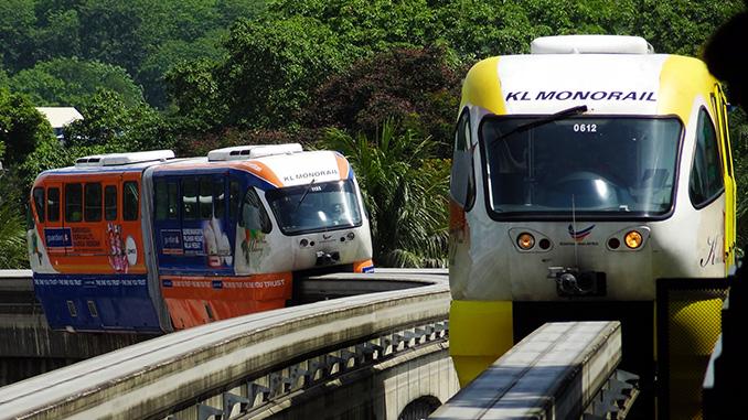 Transporte en Malasia el Monorail de Kuala Lumpur