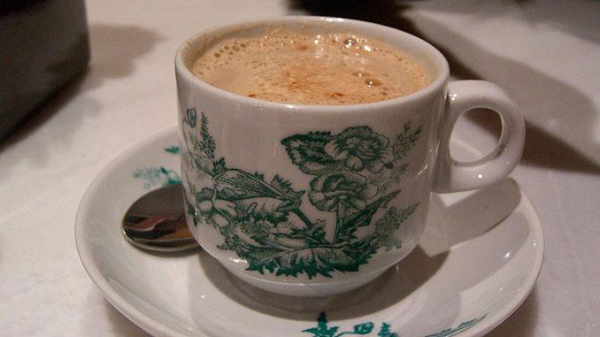 Café blanco de Ipoh Malasia