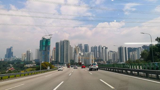 carretera Kuala Lumpur a Ipoh