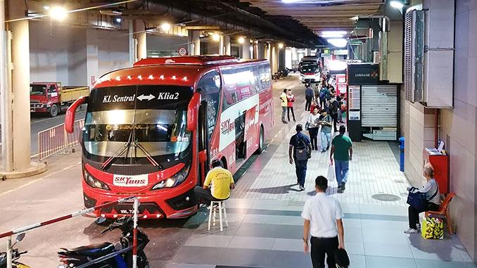 Bus de Kuala Lumpur al aeropuerto