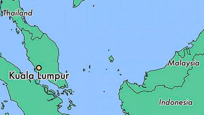 Dónde está Kuala Lumpur localizada en el mapa