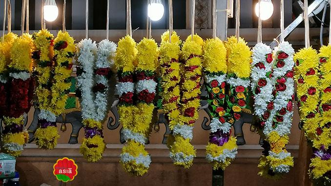flores decoración india