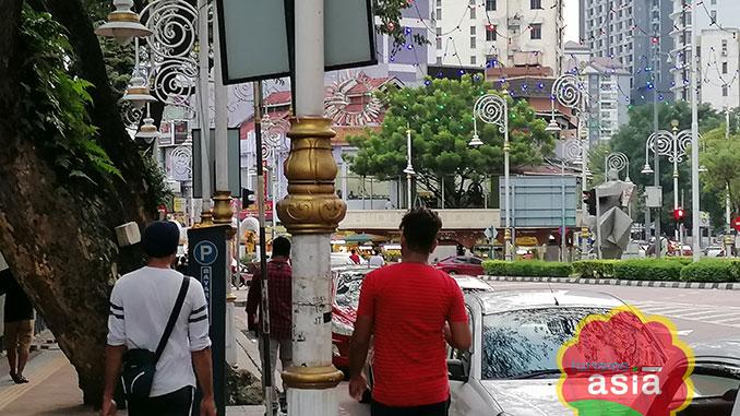 Barrio hindú en la capital de Malasia