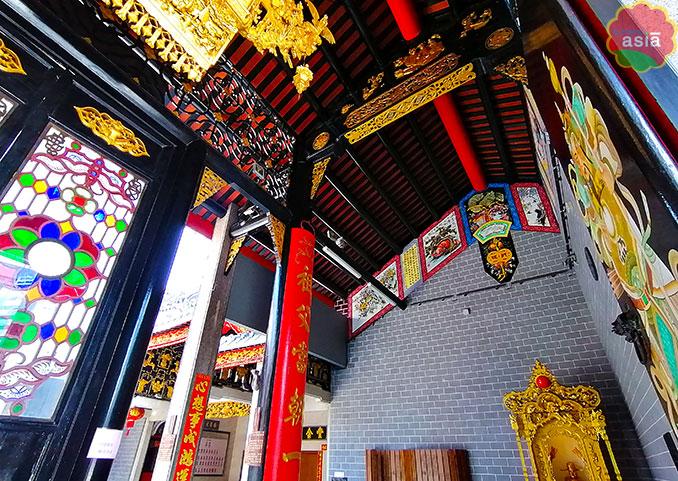 Edificio del clan Chan en Kuala Lumpur templos KL