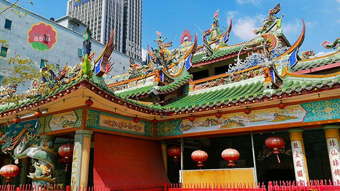 Templo para visitar en Kuala Lumpur