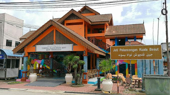 Puerto de Kuala Besut hacia las islas Perhentian