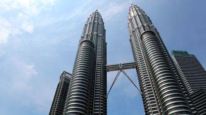 Las Petronas de Kuala Lumpur en Malasia