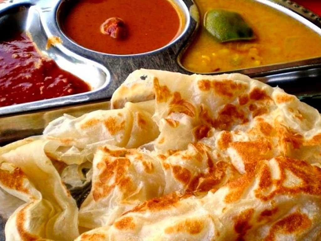 Roti Canai en la cocina de Malasia