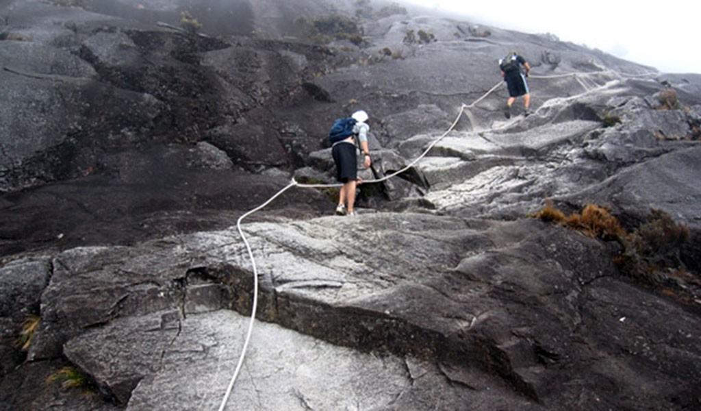 subida el Monte Kinabalu