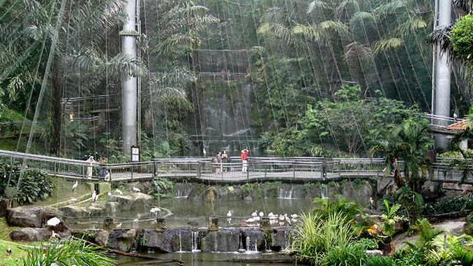 Parque de los pájaros entre los lugares para visitar en Kuala Lumpur