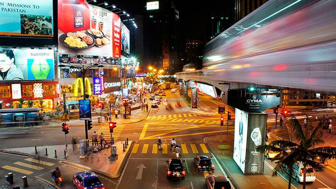 Bukit Bintang uno de los lugares para visitar en Kuala Lumpur
