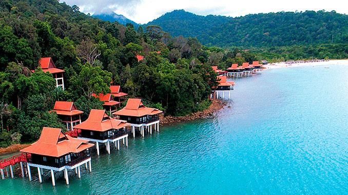Hoteles en la isla de Langkawi en Malasia