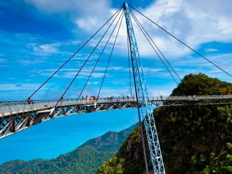 Langkawi en Malasia sky bridge