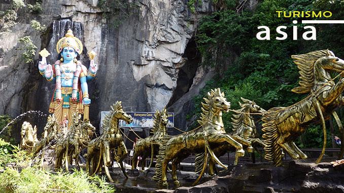 Visitar Batu Caves Kuala Lumpur