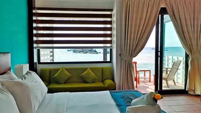 Hotel en la isla de Tioman Malasia