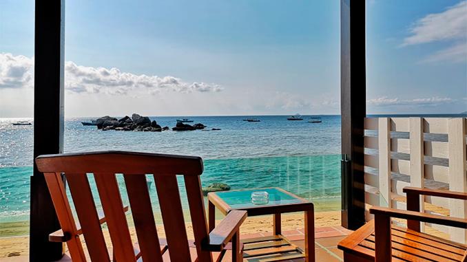 Resort en la isla de Tioman