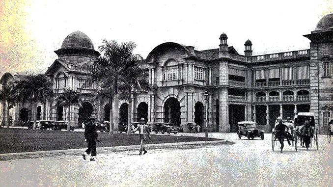 Historia de Perak estación de tren de Ipoh en 1945