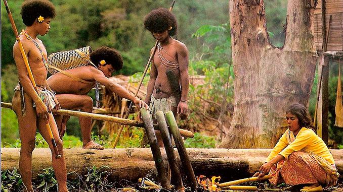 Los aborígenes Organ Asli primeros pobladores de Perak Malasia