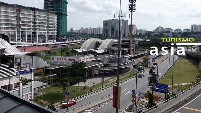 conexión de la estación de autobuses de Kuala Lumpur con el aeropuerto