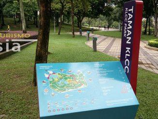 caminar desde las Torres Petronas hasta Bukit Bintang