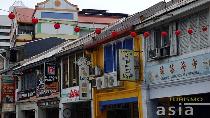 barrio chino de Kuching